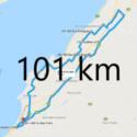 Parcours 101km 2018