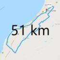 Parcours 51 km 2018