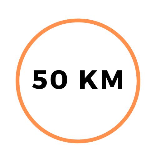 Parcours 50 km