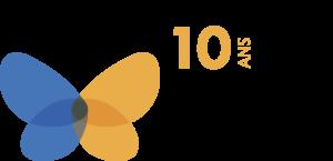 Fondation André-Côté - Logo - 10 ans