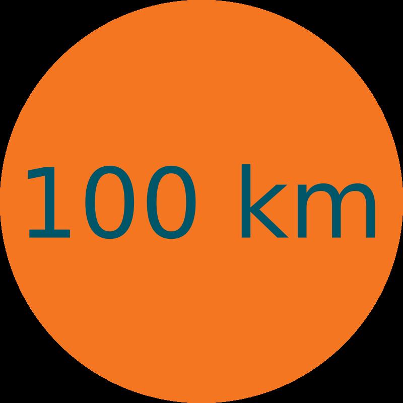 Parcours 100 km