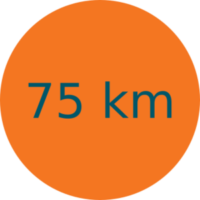 Parcours 75 km